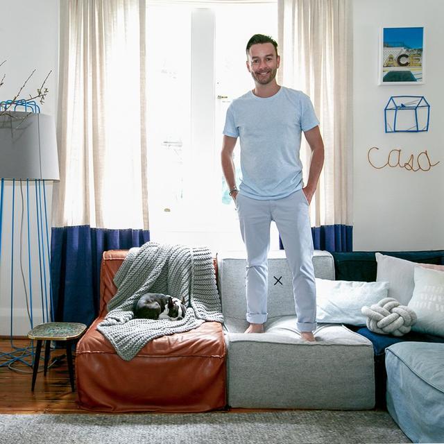 Home Tour: Jason Grant's Eclectic Bondi Beach Home