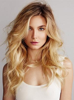 Exclusive: VS Model Bridget Malcolm Takes Beach Hair to the Next Level