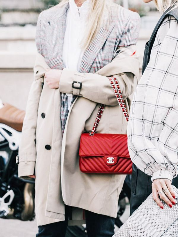 layering clothes: When layering coats, opt for a light-weight mac as the top one