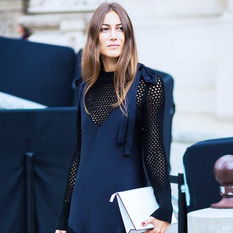 It's OK to wear black when you don't know what to wear to a wedding