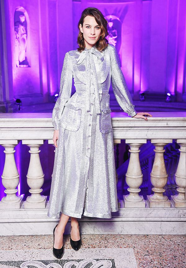Alexa Chung style: Don't be afraid of looking prim.