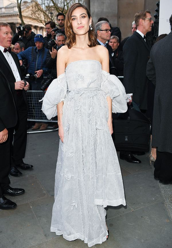 Alexa Chung style: Princess dresses should err on the side of casual.
