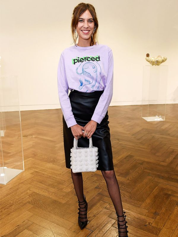 Alexa Chung style: don't forget to have fun