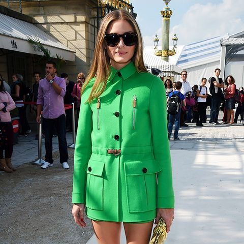 Olivia Palermo Style: Be Brave With Colour