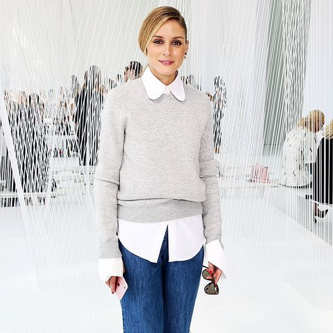 Olivia Palermo Style: Keep the Fashion Focus in One Area