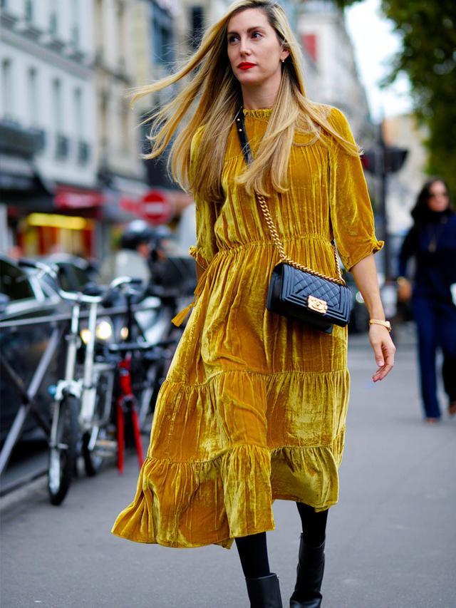 How to wear velvet casually