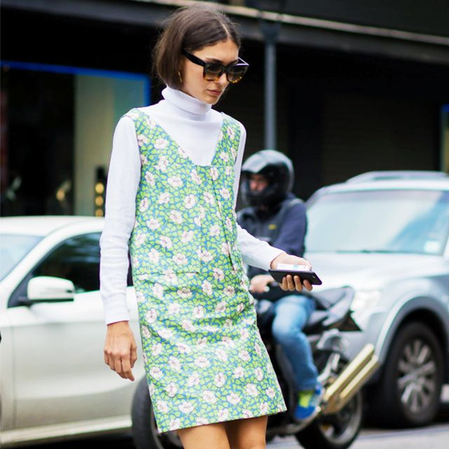 The Layering Trick Every Street Style Star Is Doing at Fashion Week