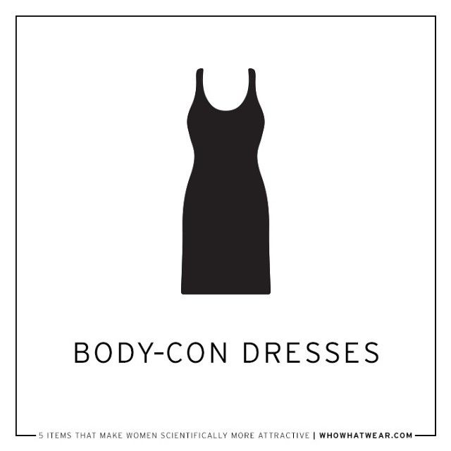 Consider showing off your curves in a body-con dress, because according to researchers in New Zealand, men prefer an hourglass-like figure with a larger waist-to-hips ratio. If you're looking to...