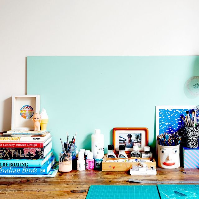 Inside An Australian Textile Designer's Creative Workspace