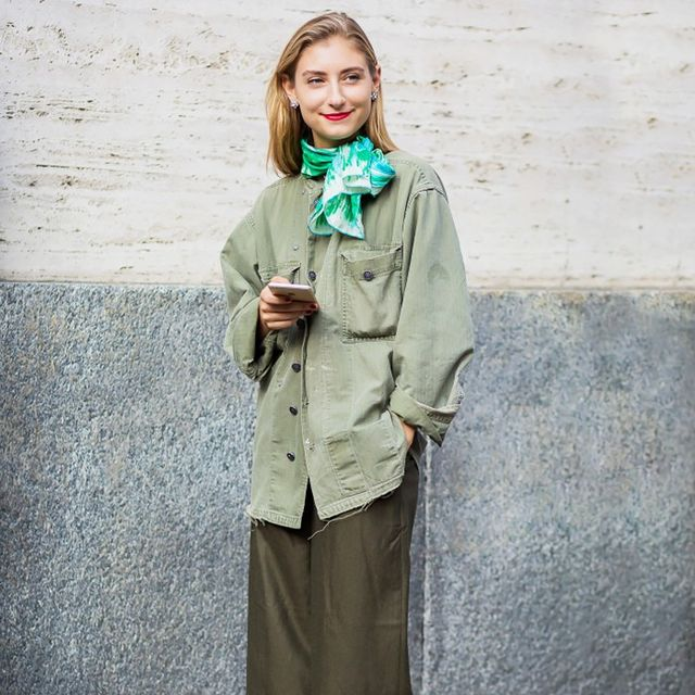 15 Different Ways to Style the Military Jacket Trend