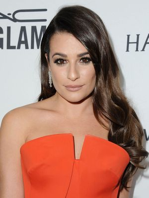 How-To: Lea Michele's Romantic Side-Swept Hair