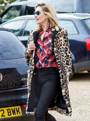 Where Kate Moss Gets Her Cat-Eye Sunglasses