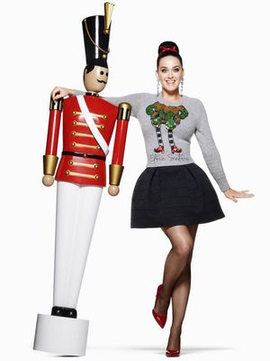 Katy Perry's New H&M Holiday Ads Are Insanely Cute
