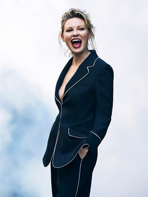 Kirsten Dunst Channels Androgynous Hollywood Icons for The Edit
