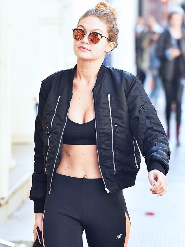 How To Dress Like Gigi Hadid For Your Gym Class