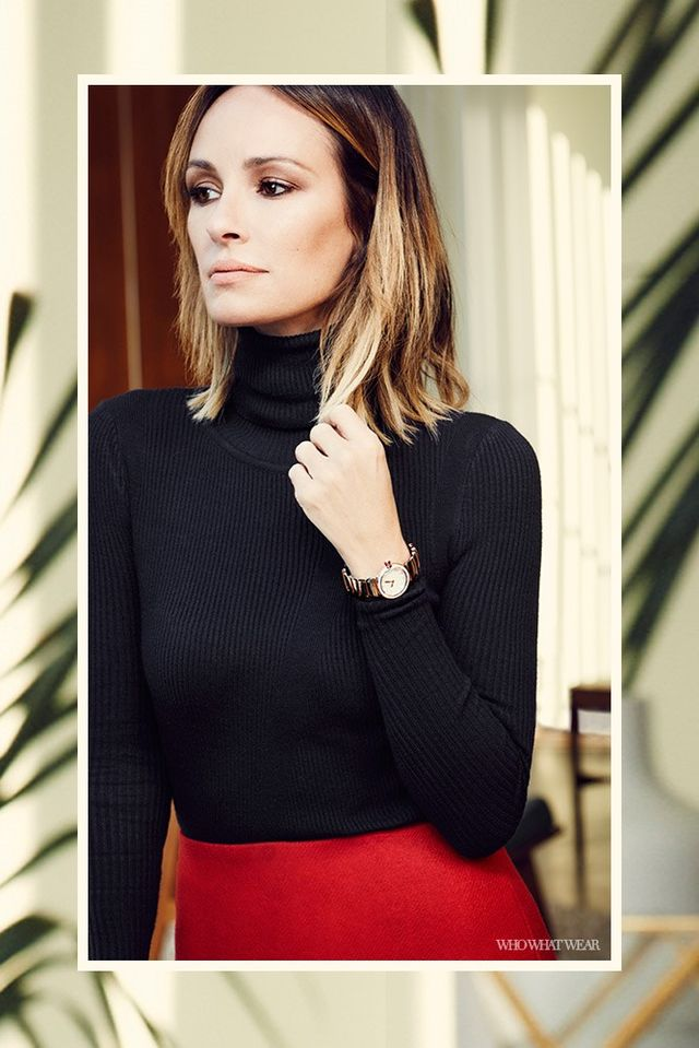 """What about the BVLGARILVCEA watch makes it an investment piece?  """"I like the crown's soft round edges combined with the strong bracelet on this style. BVLGARI sets a gemstone into the..."""