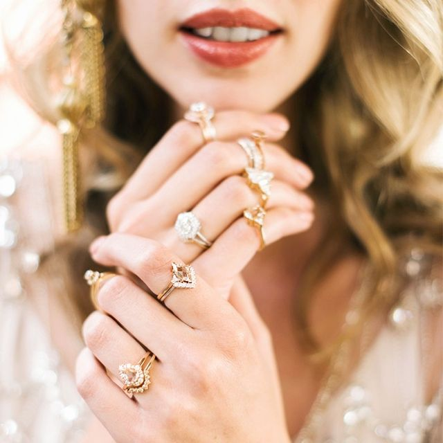 9 Celebs With The Most Timeless Engagement Rings