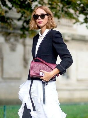 An Unexpectedly Chic Way to Wear Ruffles