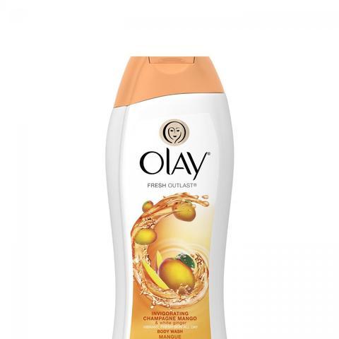Refreshing Cleansing Body Wash in Invigorating Champagne Mango