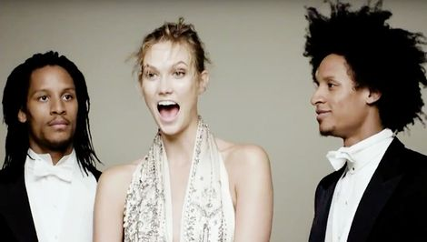 Karlie Kloss Has a Dance-Off With Beyoncé's Backup Dancers