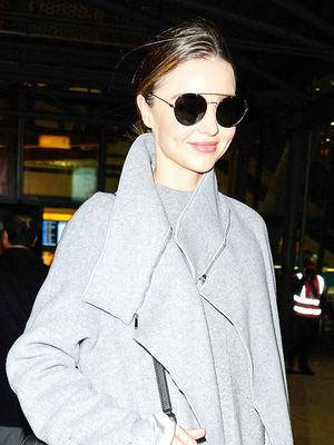Miranda Kerr's Coat Is Perfect for the Airport (and Life!)