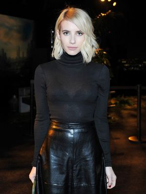The Most Flattering Going-Out Look: Thank You, Emma Roberts