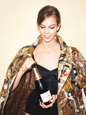 Pop Open Champagne for Better Skin and Hair