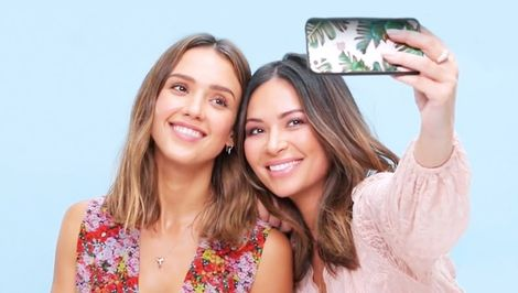 This Is What Happens When Jessica Alba Does Your Makeup