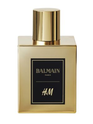 Add H&M x Balmain's New Fragrance to Your Holiday Wish List Now