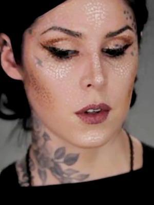 Kat Von D's Pointillism Makeup Tutorial Will Blow Your Mind