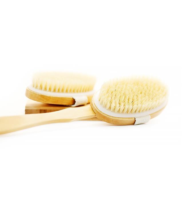 Exfoliate and Dry Brush