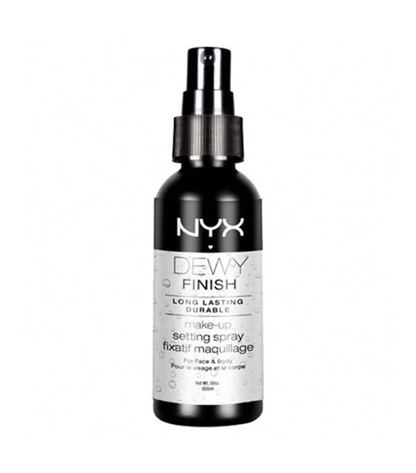 Best makeup setting sprays: Nyx Cosmetics Professional Makeup Setting Spray - Dewy Finish