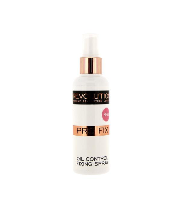 Best makeup setting sprays: Makeup Revolution Pro Fix Oil Control Makeup Fixing Spray