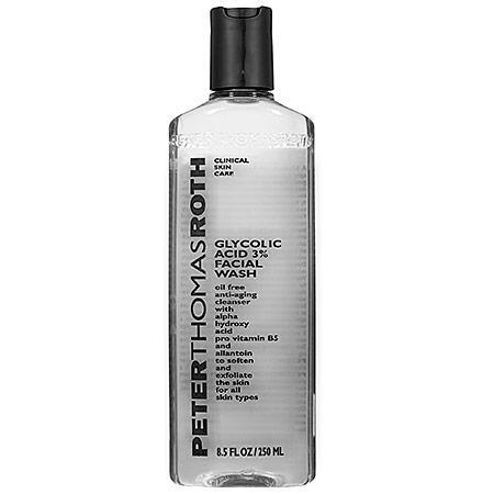 7 Brilliant Ways to Unclog Your Pores: Peter Thomas Roth Glycolic Acid 3 Percent Facial Wash
