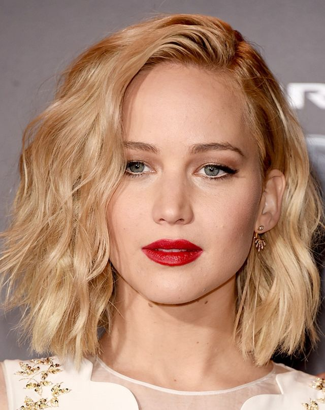 Party Season Hairstyles for Short Hair, Courtesy of J.Law Byrdie ...