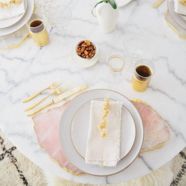 The Chicest Gold Entertaining Essentials You Need This Season