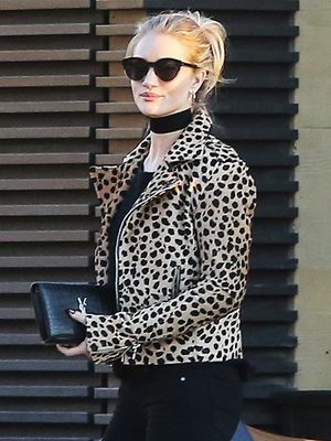 Rosie Huntington-Whiteley's Leopard Jacket Just Sold Out