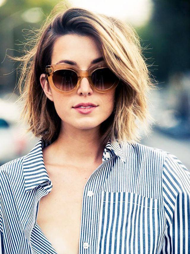 the most flattering short haircuts for thick hair byrdie au