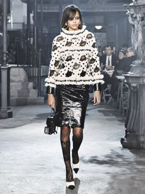 See Every Single Look From Chanel's Métiers d'Art Rome Collection