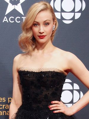 Actress Sarah Gadon Just Told Us the Most Genius Lipstick Trick