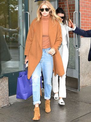 How to Wear a Camel Coat Like a Celebrity