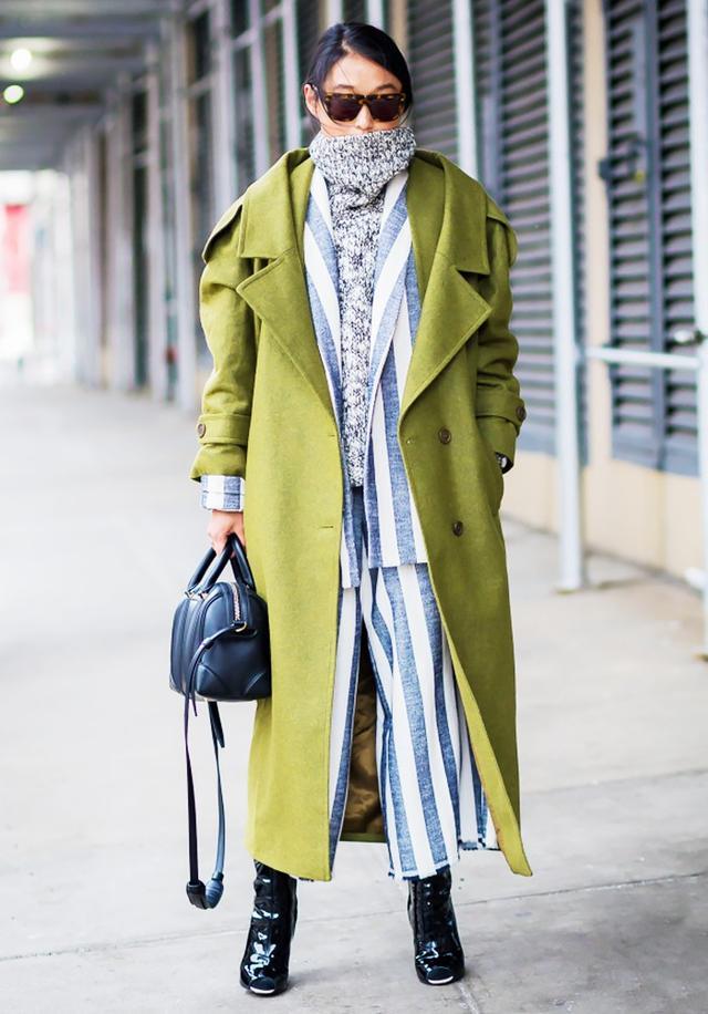 #6: Jumper + Waistcoat + Oversized Coat
