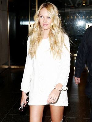 You'll Wear Candice Swanepoel's Over-the-Knee Boots All Winter