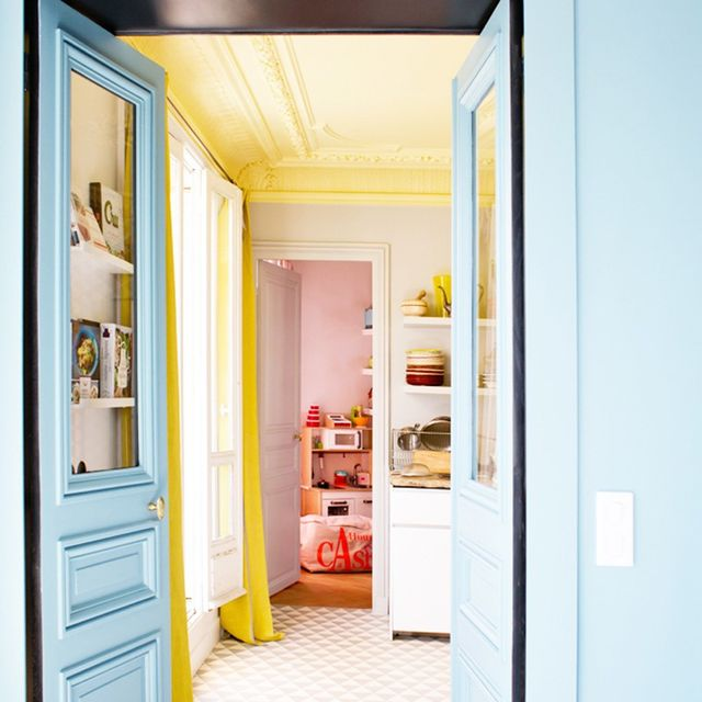 Inside a Bright and Colourful Parisian Apartment
