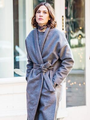 The Fresh Way Alexa Chung Is Styling Her Winter Wardrobe