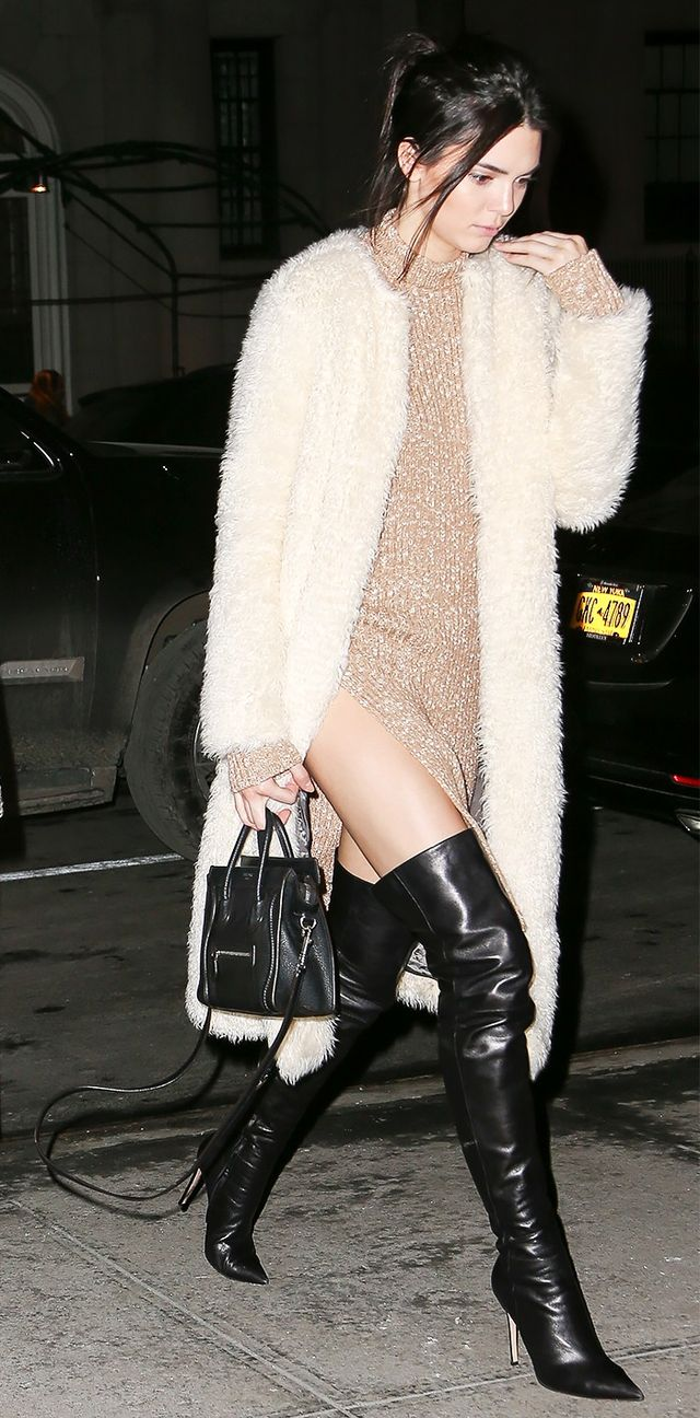 A Celebrity Guide to Wearing Thigh-High Boots | WhoWhatWear