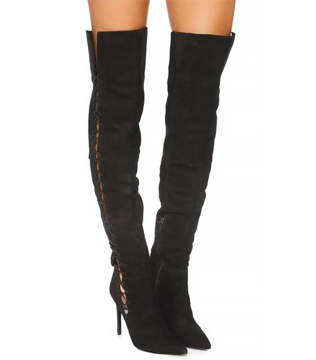 a guide to wearing thigh high boots whowhatwear uk