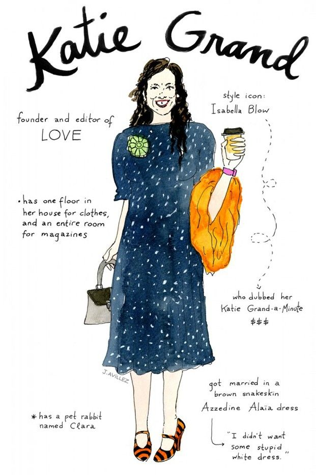 Your Favourite Fashion Faces Illustrated Whowhatwear Uk