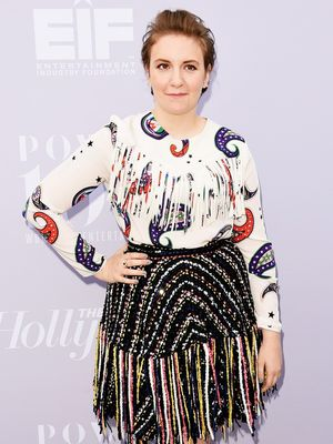 The Cool Italian Designer Lena Dunham Wore on the Red Carpet