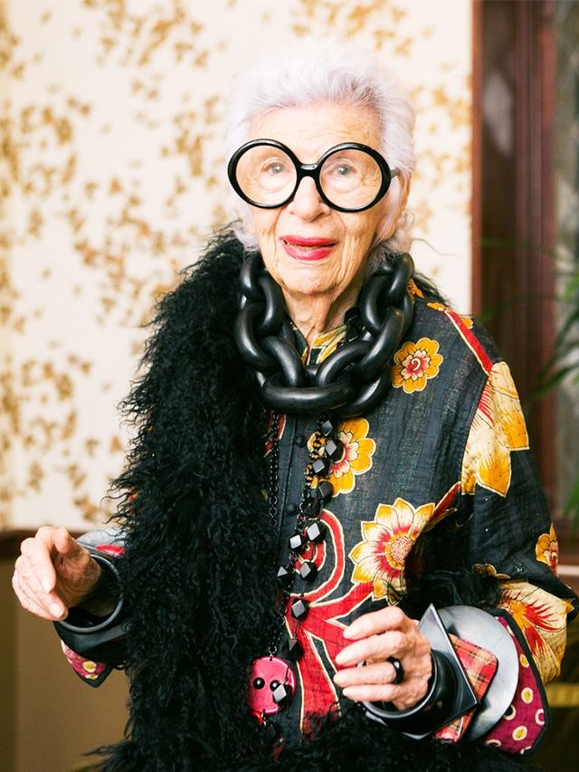 10 Holiday Party Accessory Ideas From Iris Apfel Whowhatwear